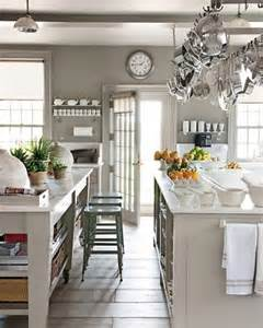 White And Gray Kitchen by Where Gray Works In The Kitchen The Painted Room Color