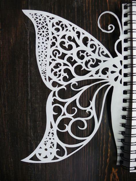 Paper Cut L by Papercut Butterfly By Podwojned On Deviantart