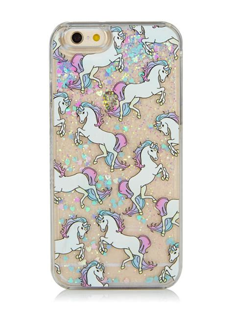 iphone 6 6s glitter unicorn