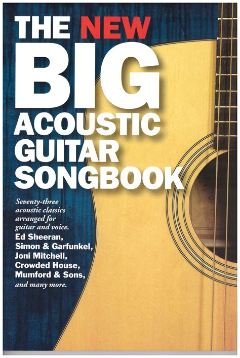 guitar code the new big acoustic guitar songbook 14 99 code