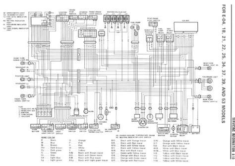 suzuki gsxr  wiring diagram