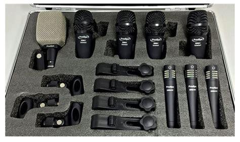 Proel Drumset Microphone Kit Dmh85 set microfoni per batteria prodipe dr8 salmieri set di 8 microfoni per batteria con