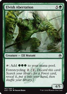 strongest mtg deck elvish aberration daily mtg magic the gathering