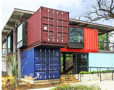 Interior Of Shipping Container Homes shipping containers make a wonderful booze can in austin
