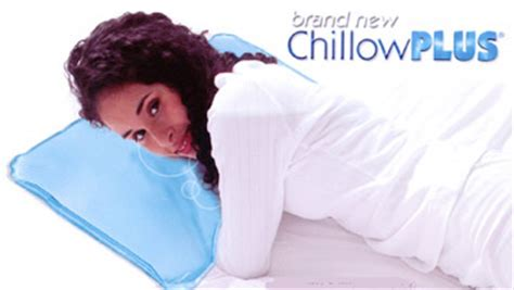 chillowplus cool chillow pillow menepause flashes ebay