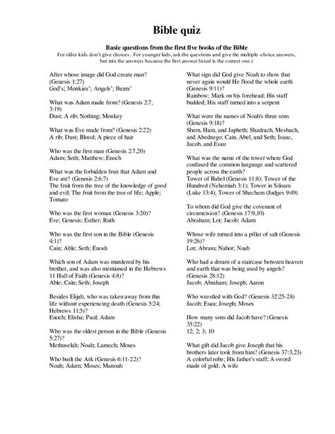 printable star trek trivia questions and answers 18 best images of bible worksheets questions and answers