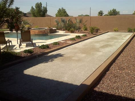 bocce ball courts grow land llc
