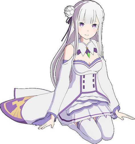 Kaos Anime Re Zero Kara Emilia emilia re zero re zero kara hajimeru isekai seikatsu image 2220835 zerochan anime image