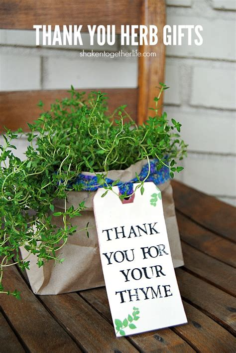 Charming Small Office Christmas Gifts #3: Thank-you-herb-gifts-1.jpg