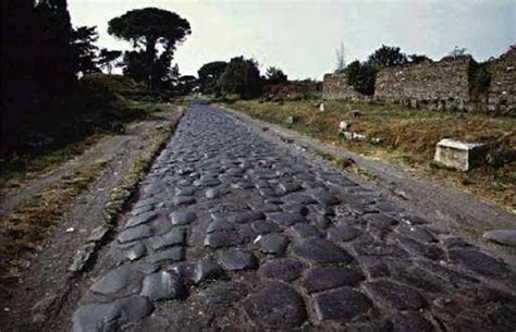 ancient greek roads via apia 2 200 years old roman road from rome to greece
