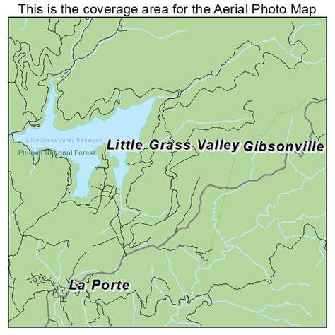 map of grass valley california landsat