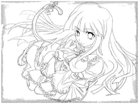 imagenes para dibujar mujeres imagenes anime de mujeres para colorear archivos