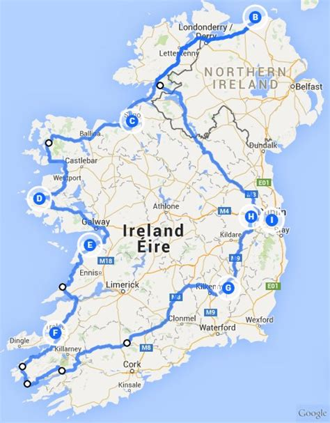 Mit Dem Auto Nach Irland by Irische Highlights Rund Um Irland Gruene Insel De