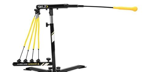 hurricane swing trainer sklz hurricane category 4 solo baseball swing training machine