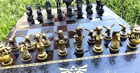 Gaming Bedroom Set Up legend of zelda chess set shut up and take my yen