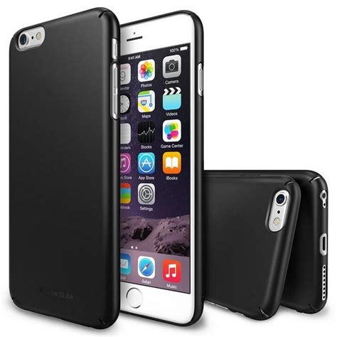 Rearth Ringke Slim Iphone 55sse rearth ringke slim negra para iphone 6 pccomponentes