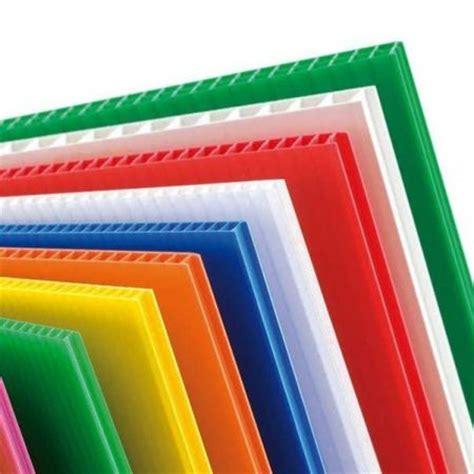Propylene Vinyl Acrylic 4mm Correx Coloured Fluted Polypropylene Sheet Correx Sheet Correx Plastic Sheet Fluted
