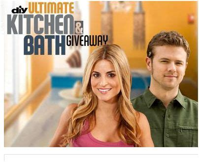 Diy Network Kitchen Sweepstakes - diy network quot ultimate kitchen bath giveaway quot sweepstakes win 100 000