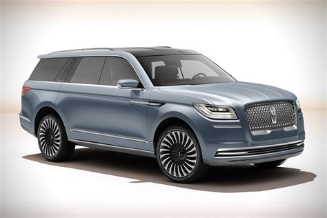 lincoln navigator 2018 2018 lincoln navigator concept redesign pictures specs