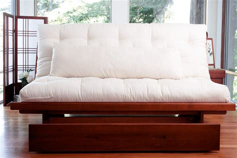 wood futon frame futon frame okinawa wood futon and
