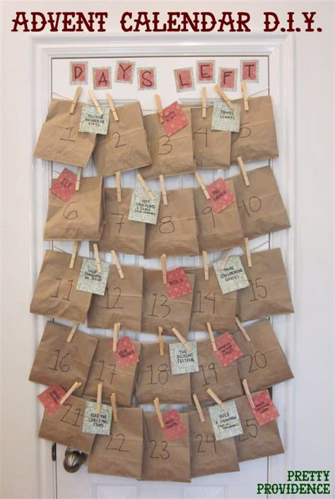 How To Make A Paper Advent Calendar - the coolest advent calendar ideas in the world you can