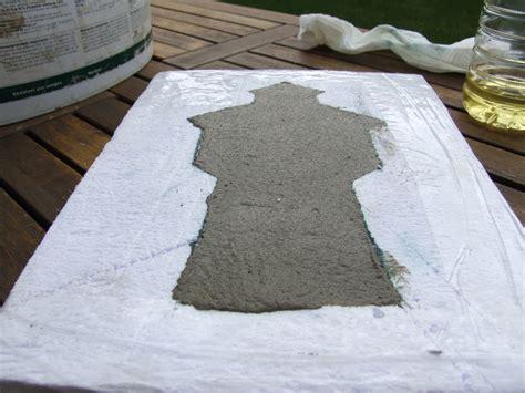 giessform beton beton gie 223 form mit einem messer selbst herstellen ein