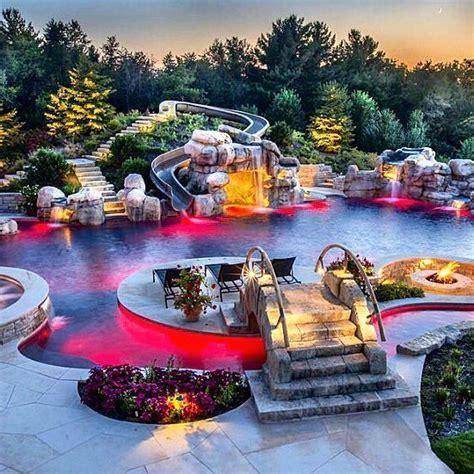 dream backyards best 25 backyard lazy river ideas on pinterest