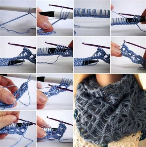 broomstick infinity scarf broomstick lace infinity scarf crochet pattern tutorial