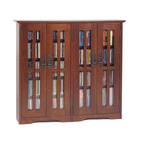 extra large media cabinet leslie dame extra wide wall hanging mission style glass