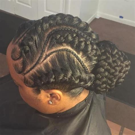 large cornrow bun styles 20 under braids ideas to disclose your natural beauty