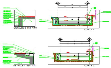 swimming pool detail section section design drawing of swimming pool design