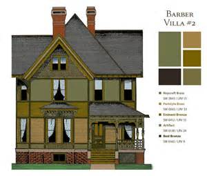how to choose paint colors for victorian houses old