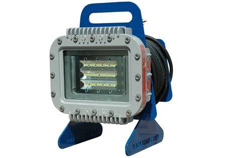 explosion proof work light larson electronics releases portable explosion proof