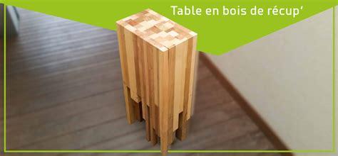 table de chevet fait maison une table de chevet avec du bois de r 233 cup 233 ration