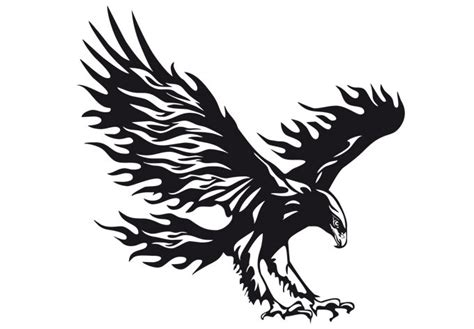 eagle wall decal majestic bird home decor