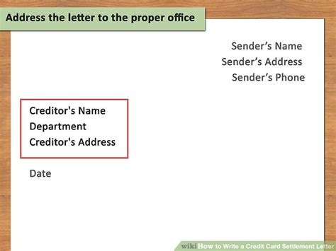 Debt Collection Letter Affect Credit Rating How To Write A Credit Card Settlement Letter With Pictures