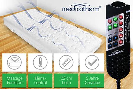 matratze mit massagefunktion massagematratze medico multiflexm trendy and style