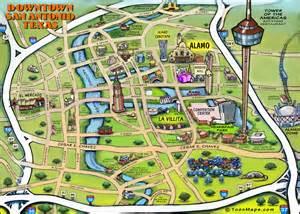 downtown san antonio map