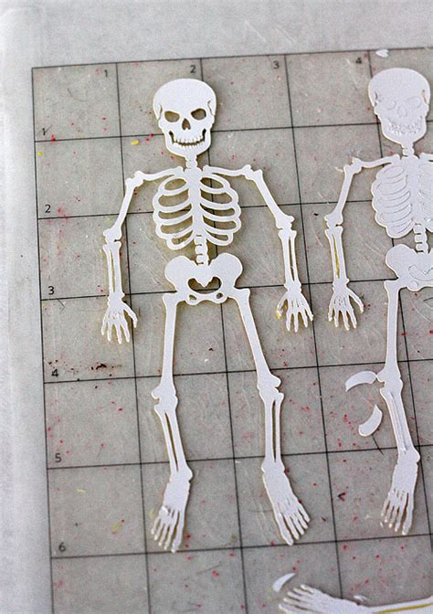 How To Make A Skeleton With Paper - glitter skeleton coffin boxes skip to my lou