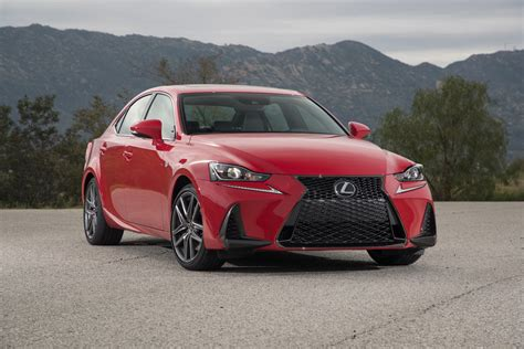 lexus is 300 turbo 2017 2017 lexus is 200t test review motor trend