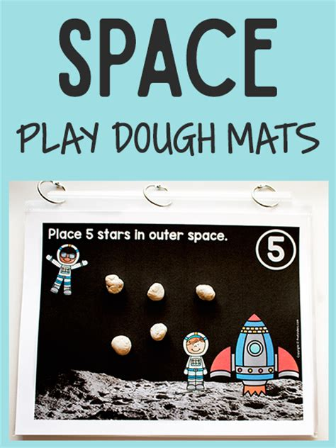 printable space playdough mats space play dough math mats prekinders