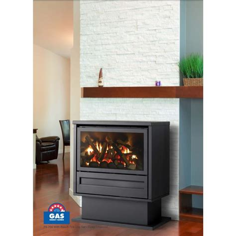 Gas Log Heaters Archer Freestanding 700 Series Gas Log Fires Space