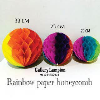 Honeycomb Kertas lion gantung lion kertas honeycomb pompom