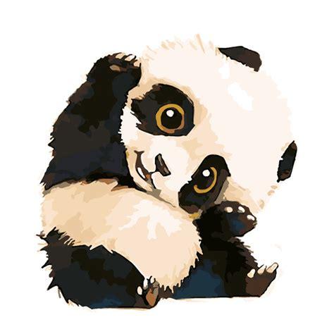Diy Door Frame by Nieuwe Leuke Panda Op Wall Acryl Schilderen Nummers