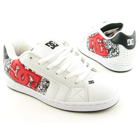 Dc Usa Shoes dc shoe co usa net se white skate shoes mens size 6 5 ebay