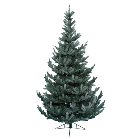 artificial grey silver tip tree 7ft kaemingk everlands silver forest spruce 5ft 1 5m tree 689310 bosworths shop