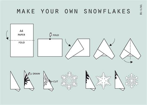 Make Your Own Snowflake Out Of Paper - make your own snowflakes bl ij