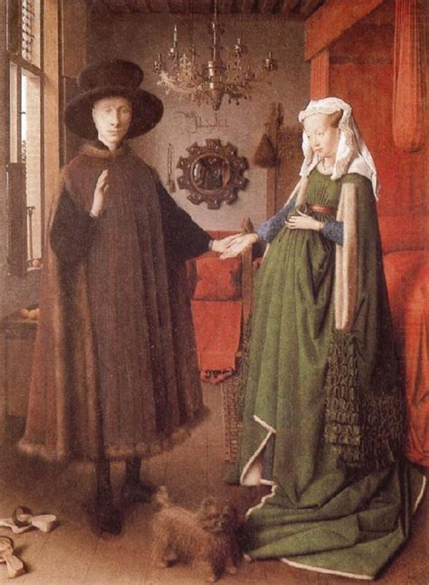 the arnolfini wedding portrait arnolfini and his giovanna cenami eyck jan