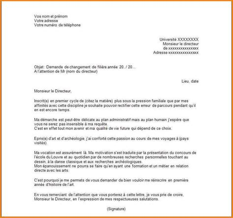 Lettre De Radiation Ecole Gratuite modele de lettre de motivation formation candidature