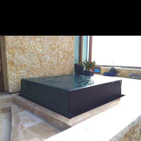 Infinity hot tub   Dream Home   Pinterest